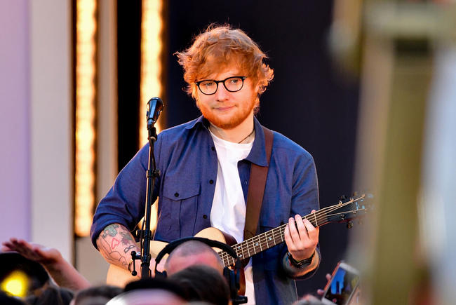 Ed Sheeran talks being snubbed in major Grammys categories