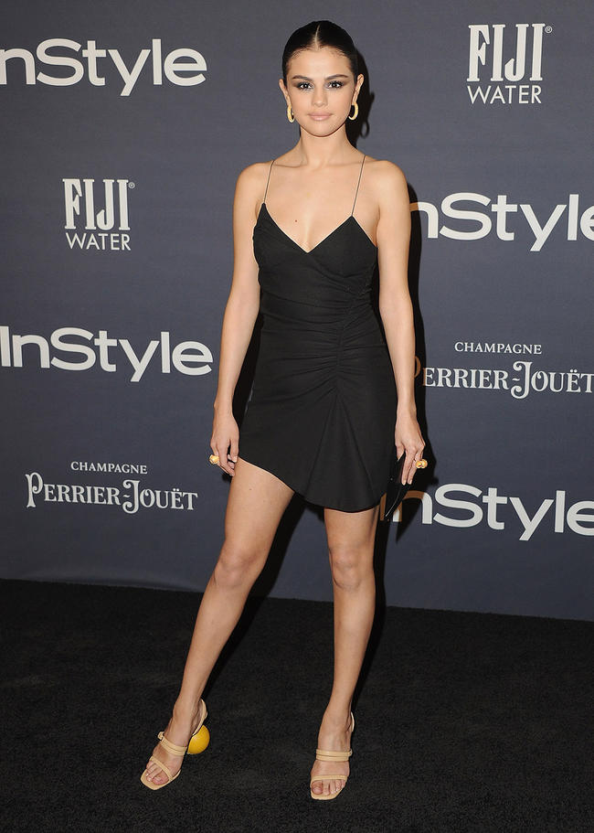 Selena Gomez attending the Instyle Awards in Los Angeles.