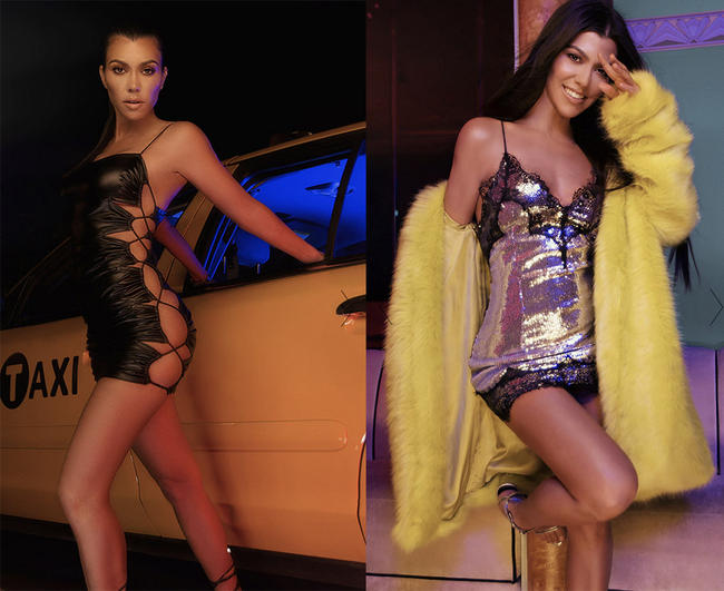 Kourtney Kardashian launches her PL collection.