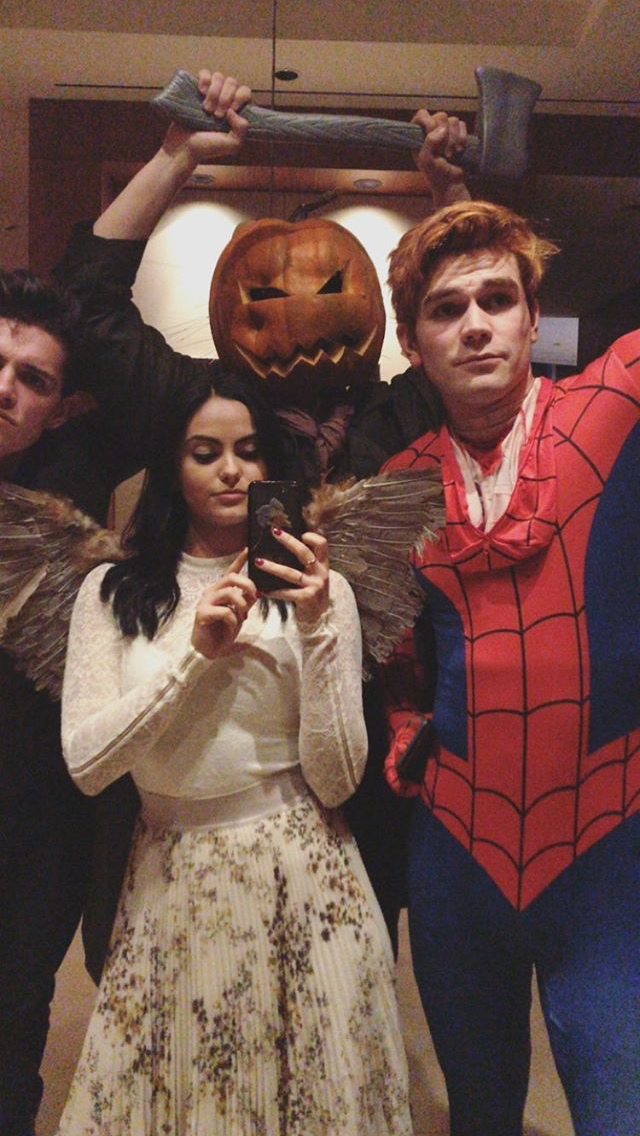 Looks Like The Cast Of Riverdale Had A Really Wild Halloween Night ...