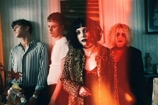 Pale Waves promotional picture, 2017