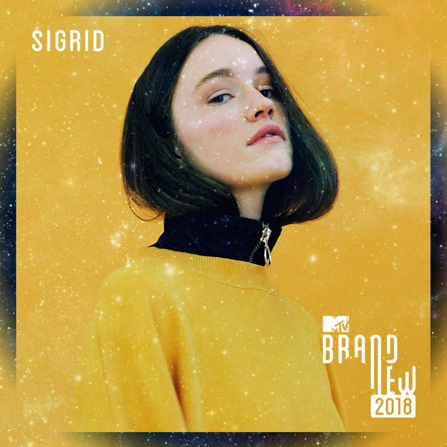 MTV Brand New For 2018 - Sigrid