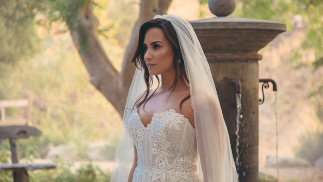 Demi Lovato in the 'Tell Me You Love Me' music video, released in December 2017