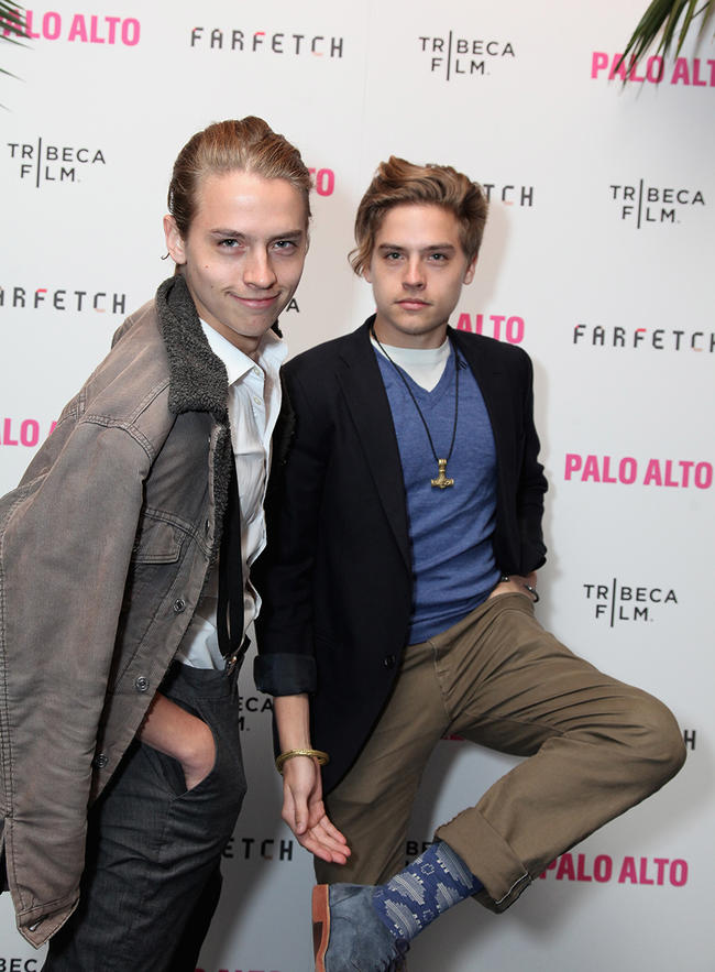 Cole Sprouse admits he's embarrassed by tweed outfits at Uni.