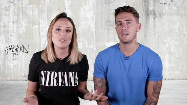 Just Tattoo Of Us hosts Charlotte Crosby and Stephen Bear give their thoughts on Geordie Shore's Abbie Holborn's new tattoo