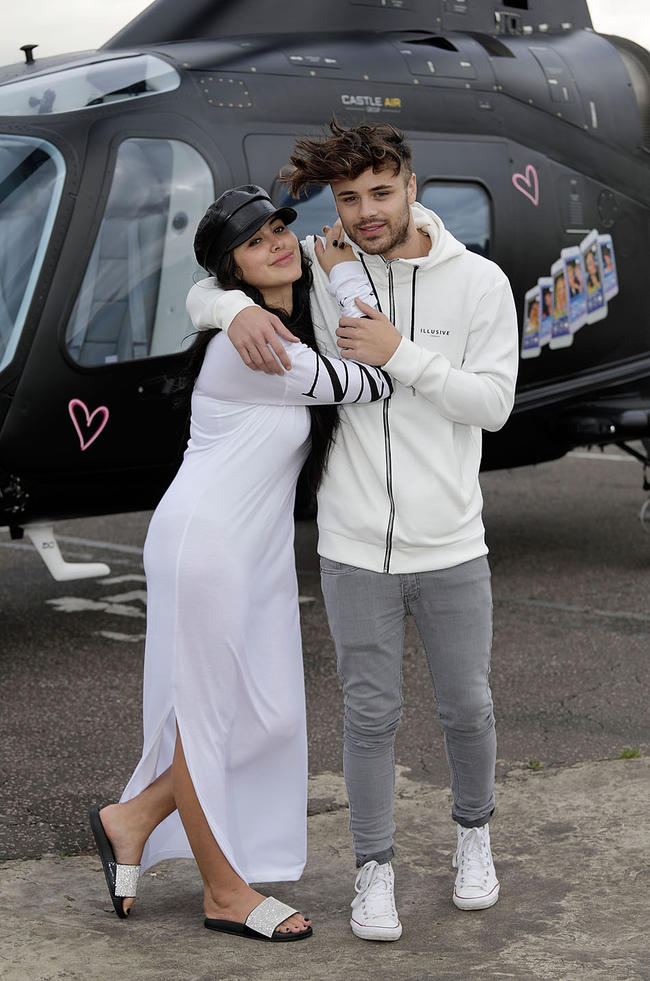 Casey Johnson teases potential engagement to Single Af co-star Marnie Simpson