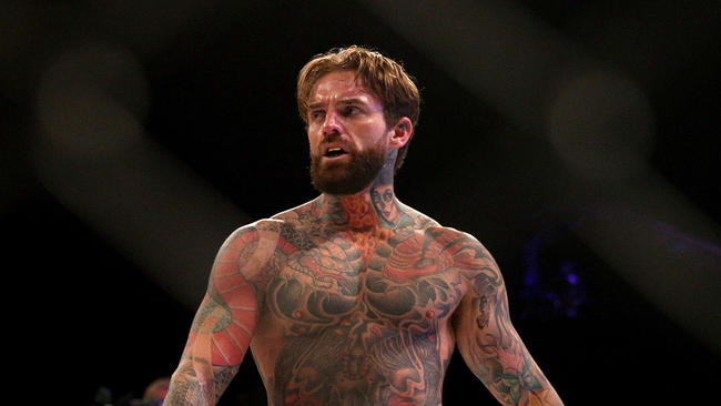Aaron Chalmers has a message for people doubting his MMA career.