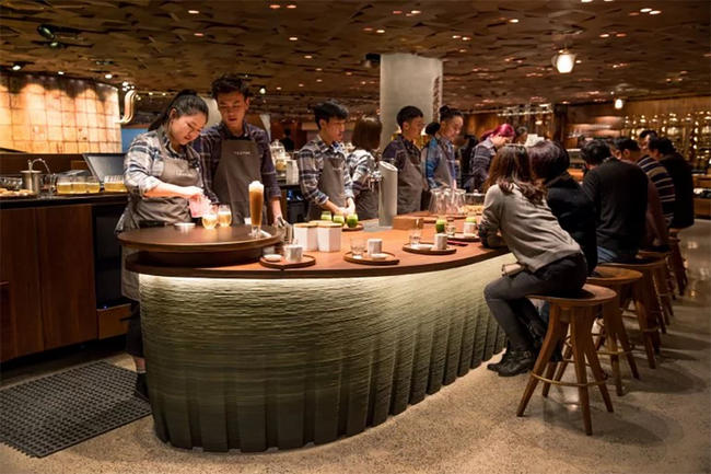 The Biggest Starbucks in the World is Now in Shanghai