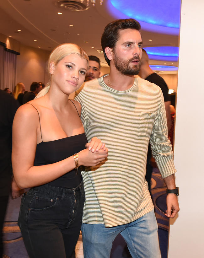 Scott Disick and Sofia Richie are couple goals in Miami Beach.