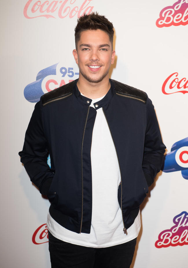 Matt Terry attends Capital FM's annual Jingle Bell Ball in December 2017