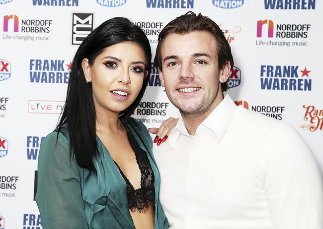 Cara De La Hoyde and Nathan Massey reveal the name of newborn son