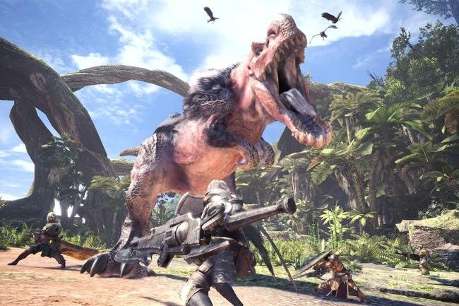 Monster Hunter World is already a huge hit