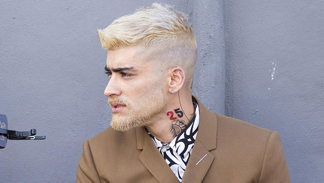 Zayn Malik Bleach Blonde
