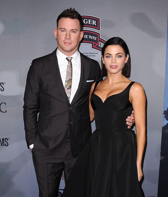 Channing Tatum and ex-wife Jenna Dewan make an appearance in 2018