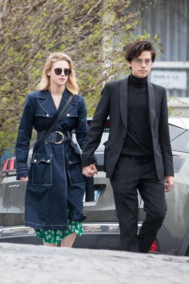 Riverdale's Cole Sprouse And Lili Reinhart Spotted Sharing An Adorable Kiss In Paris | MTV UK