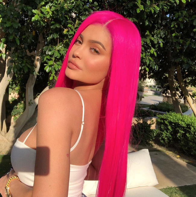 Kylie Jenner reveals baby Stormi hasn't inherited her lips