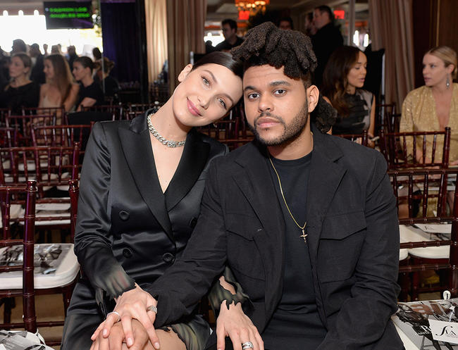 Bella Hadid and The Weeknd have posted matching Instagram pictures