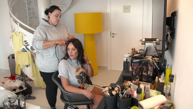 Charlotte Crosby battles with body confidence during her photoshoot in brand new The Charlotte Show