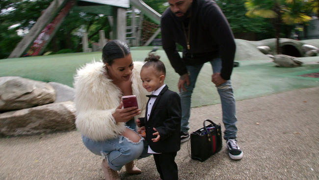 Lateysha Grace dresses daughter Wynter in gender neutral clothing on Million Dollar Baby