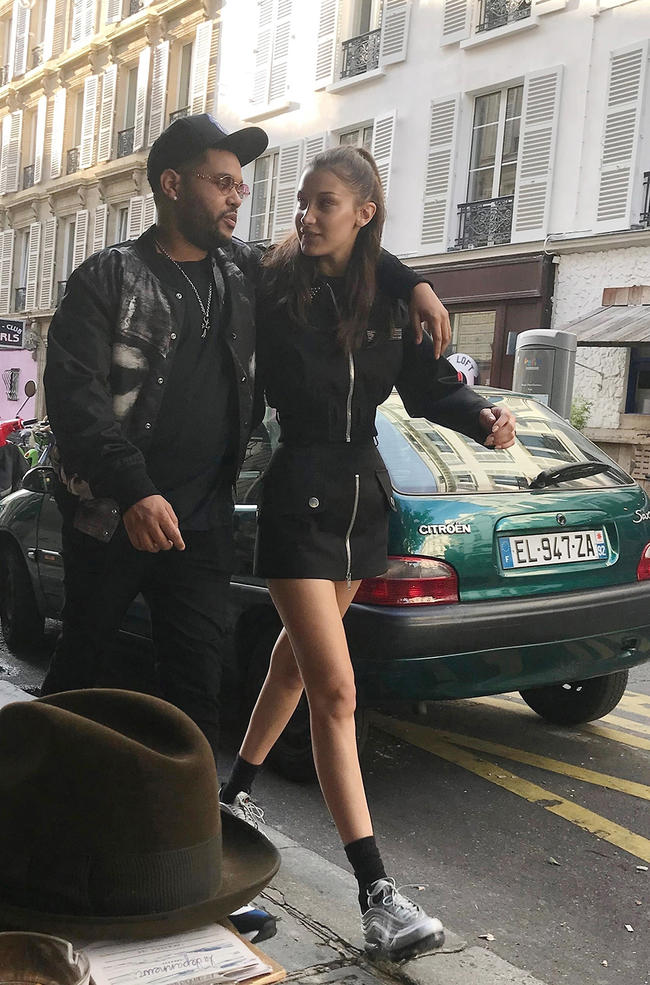 Bella Hadid and The Weeknd just shared the cutest couples selfie
