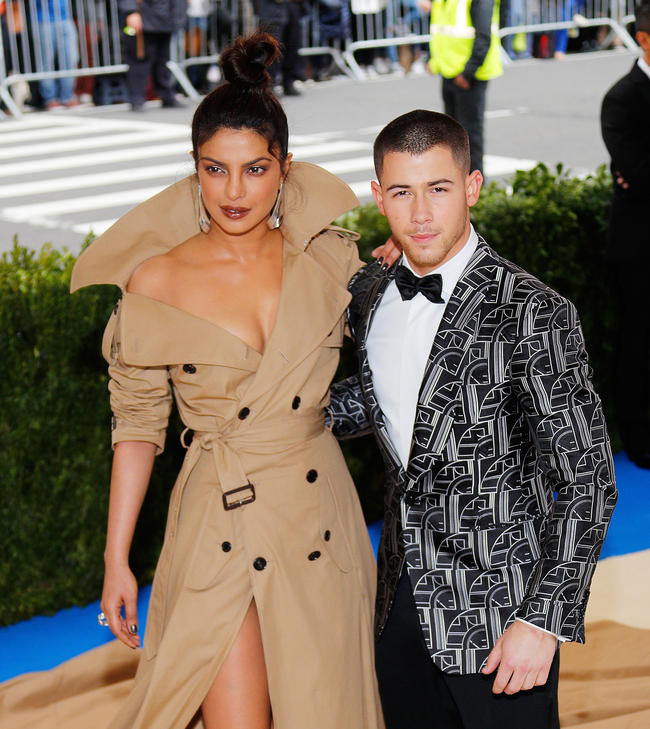 Priyanka Chopra shows off massive diamond engagement ring from Nick Jonas