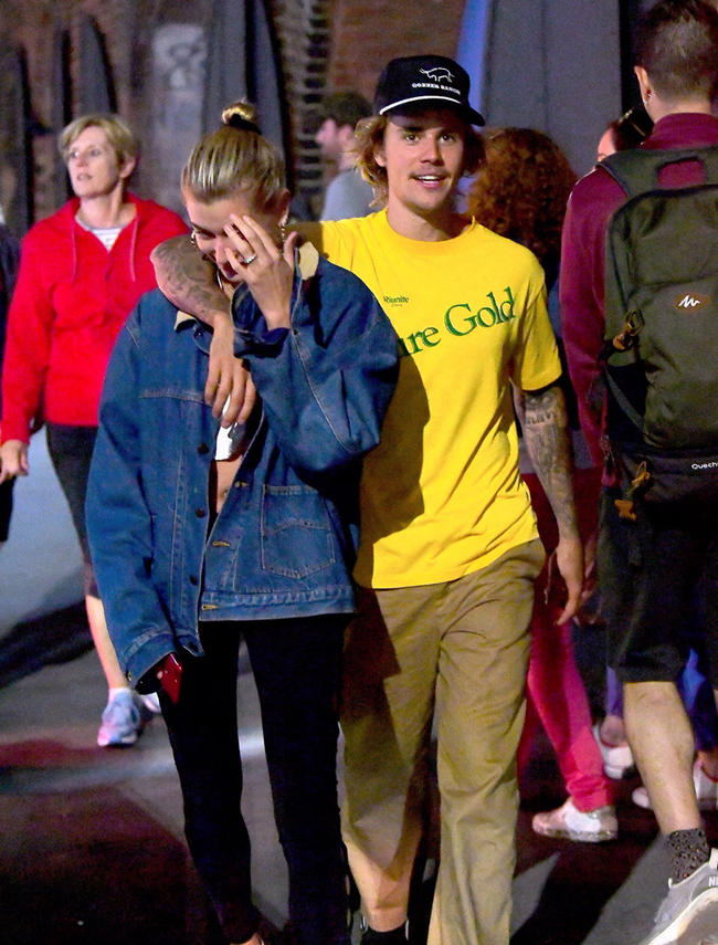 Justin Bieber predicted his whirlwind engagement to Hailey Baldwin