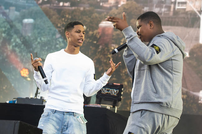 AJ x Deno performing at Wireless Festival 2018