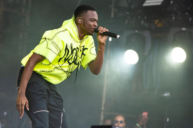 Not3s performing at Wireless Festival 2018