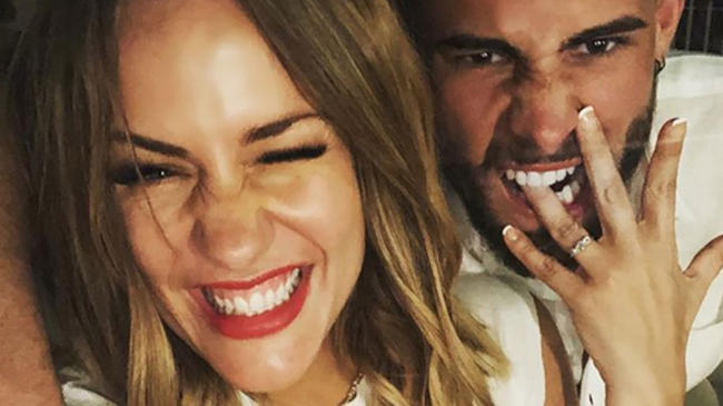 Caroline Flack announces separation from CBB's Andrew Brady