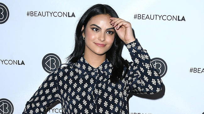 Riverdale's Camila Mendes and Charles Melton spotted kissing at the cinema?