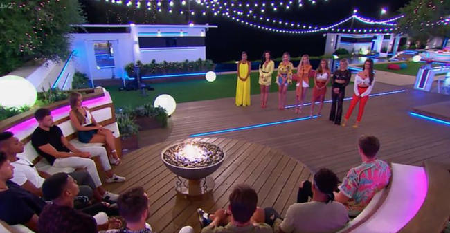 Is this proof that Sam and Georgia have left the Love island villa