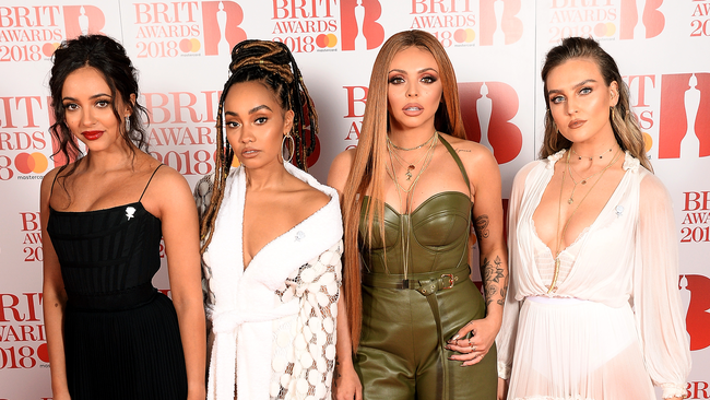 Little Mix at the 2018 BRIT Awards