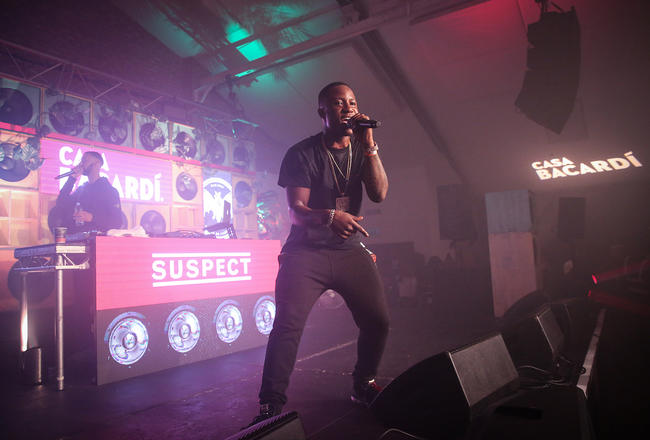 Suspect's performance at the Oval Space event.
