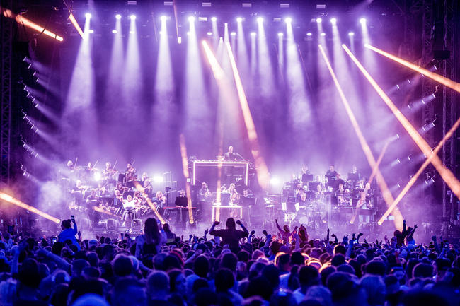 Pete Tong and the Heritage Orchestra at MTV Presents Ocean City Sounds 2018