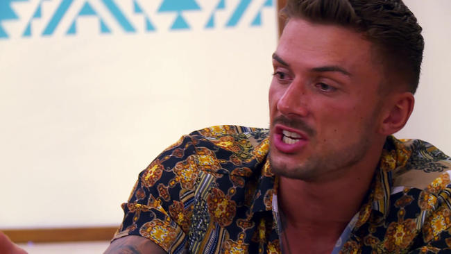 Ex On The Beach's Aaron Gill and Daisy Robins have a savage showdown