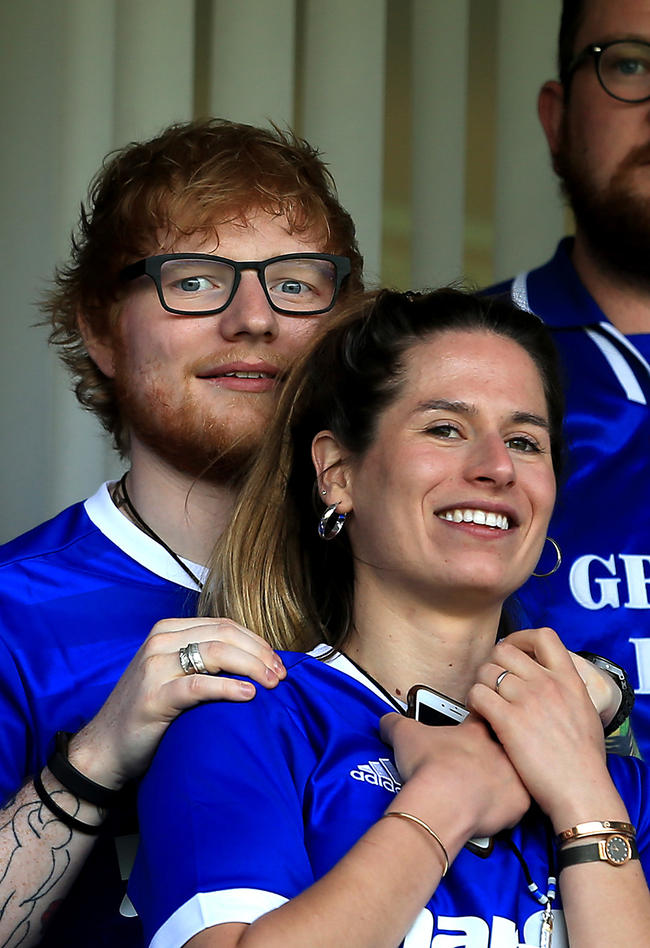 Did Ed Sheeran just confirm he's already married Cherry Seaborn?