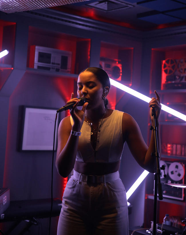 Grace Carter Performing At MTV PUSH Live at Tape London