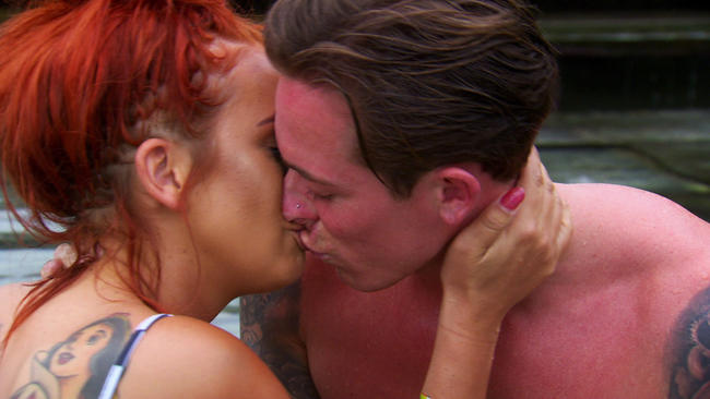 Ex On The Beach's Natalee Harris and Matty B kiss on romantic date
