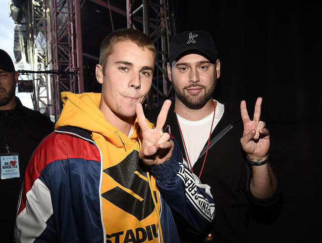 Scooter Braun Feared Justin Bieber Would Die From An Overdose