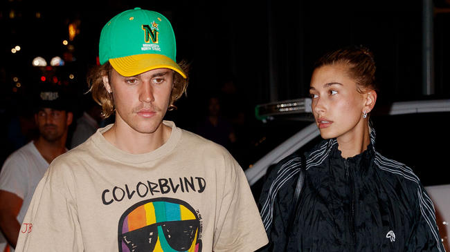 Hailey Baldwin reflects on the moment Justin Bieber proposed to her