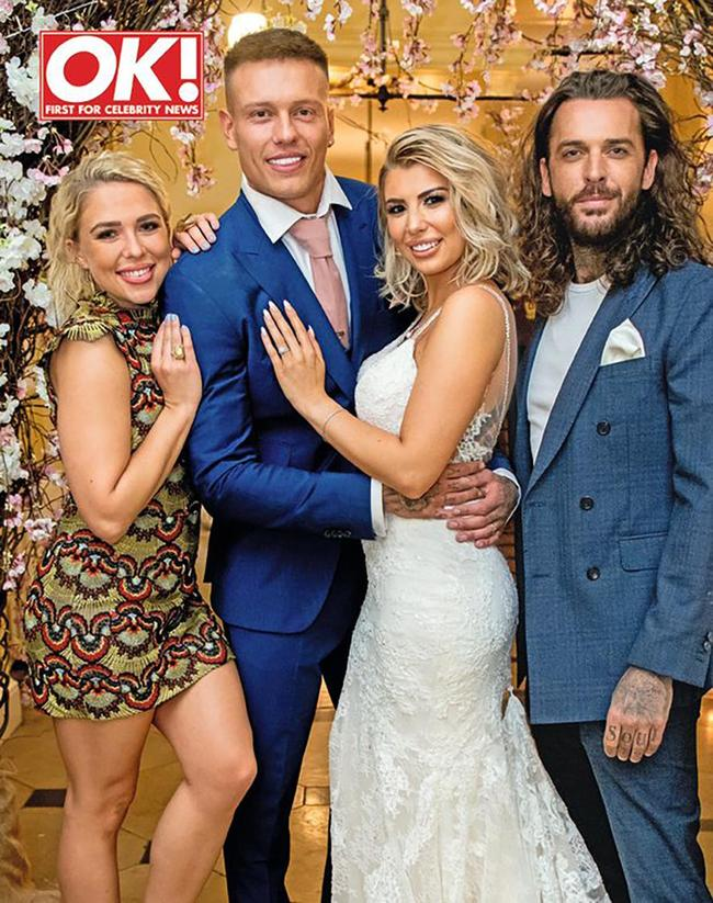Love Island's Olivia Buckland and Alex Bowen get married