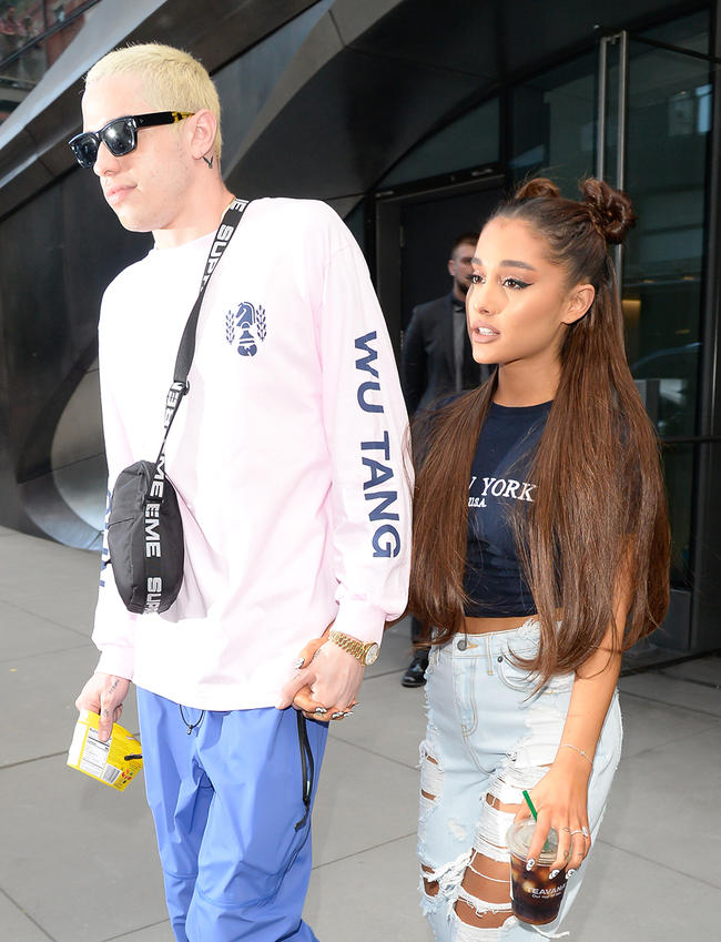 Ariana Grande and Pete Davidson might still get back together?