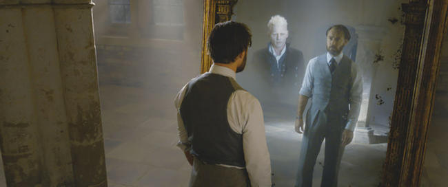 Dumbledore will have sensual scenes with Grindelwald in Fantastic Beasts