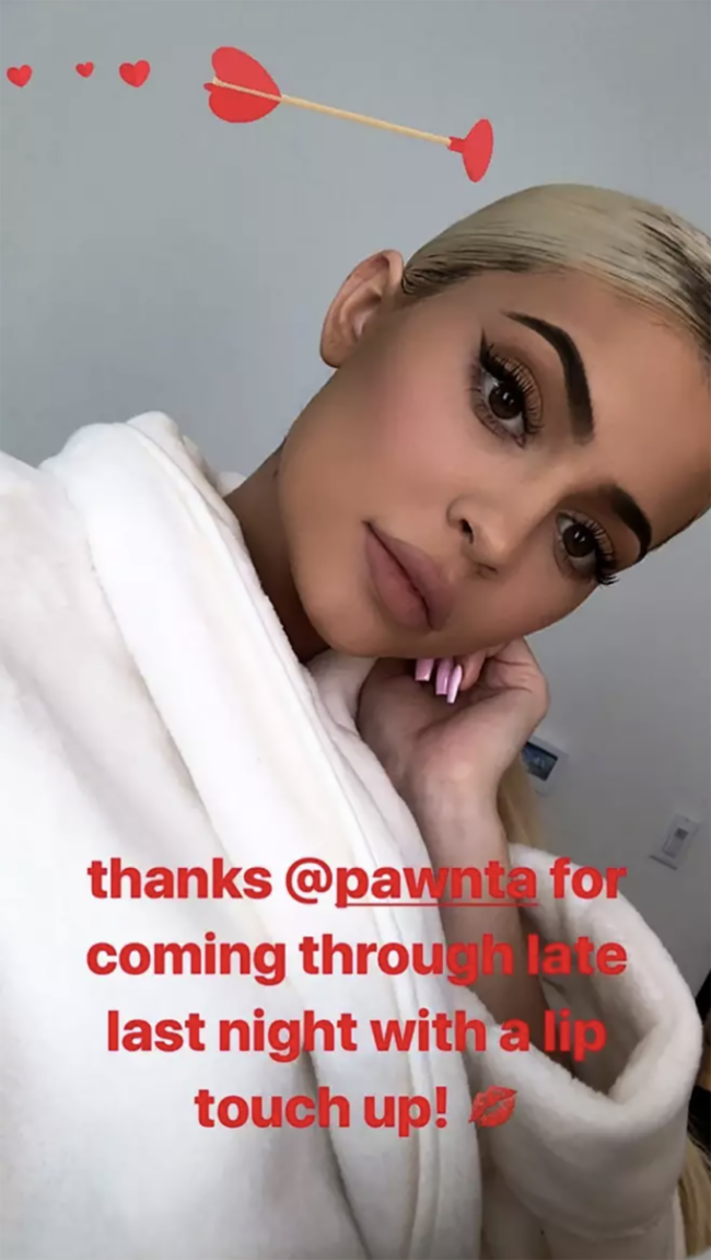 Kylie Jenner confirms she's using lip fillers again after three month break
