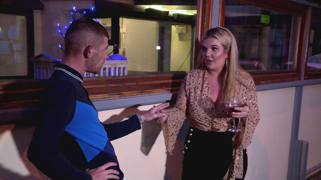 Teen Mom UK's Amber Butler talks about Kirsty to Ste Rankine