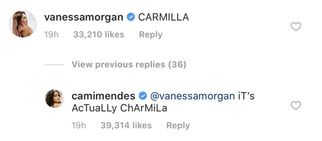 Riverdale's Camila Mendes reveals officialy shipname with Charles Melton