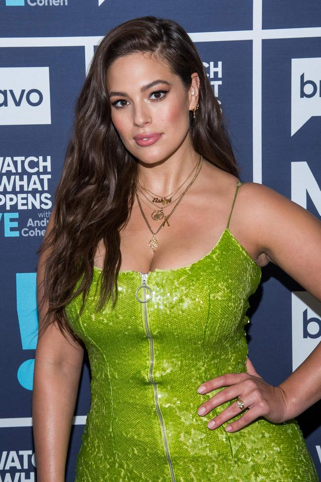 Ashley Graham interviewed on Watch What Happens Live with Andy Cohen in October 2018
