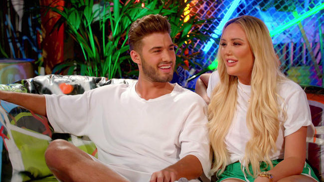 Just Tattoo Of Us host Charlotte Crosby and boyfriend Joshua Ritchie welcome her parents to the studio