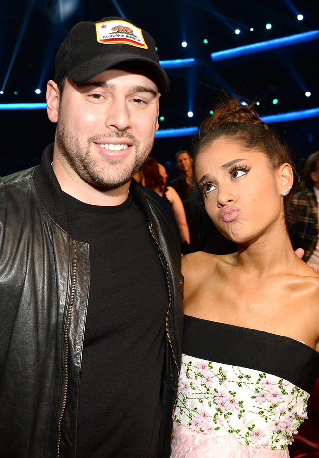 Scooter Braun hints Ariana Grande once fired him over a sh*tty ex boyfriend