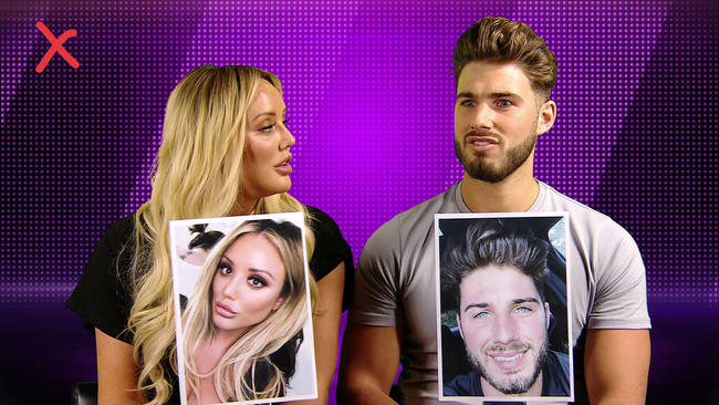 Charlotte Crosby and Josh Ritchie play Mr and Mrs